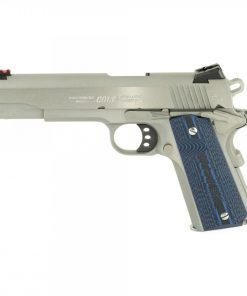 "Colt 1911 Competition 70 Series, 9mm, 5"" Barrel, 9rd Mag, Blue G10 Grips, SS"