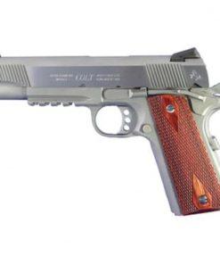 Colt 1911 'Rail Gun', 45 ACP, SS Finish, Full Size