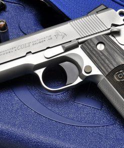 Colt 1911 Wiley Clapp Specail Edeition 45 ACP, Commander Slide, Officer Frame